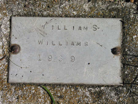 WILLIAMS, WILLIAM - Linn County, Iowa | WILLIAM WILLIAMS