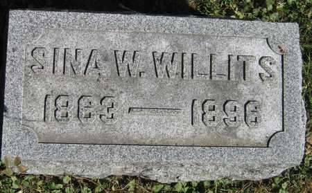WILLITS, SINA W. - Linn County, Iowa | SINA W. WILLITS