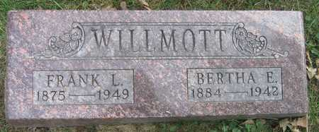 WILLMOTT, BERTHA E. - Linn County, Iowa | BERTHA E. WILLMOTT