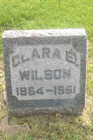 WILSON, CLARA E. - Linn County, Iowa | CLARA E. WILSON