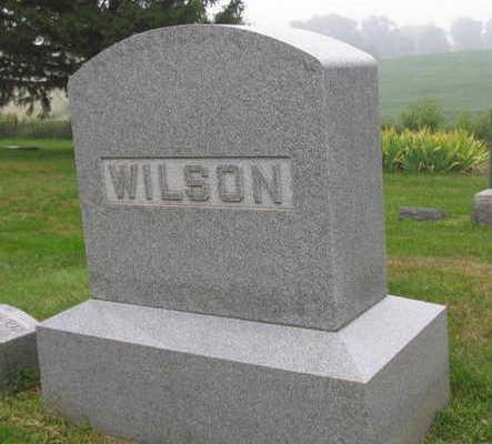 WILSON, FAMILY STONE - Linn County, Iowa | FAMILY STONE WILSON