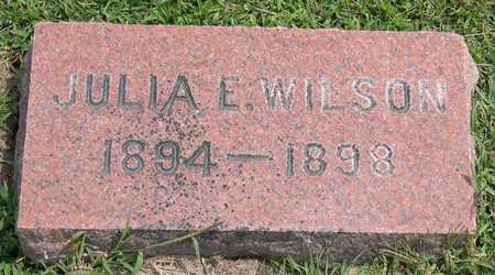 WILSON, JULIA E. - Linn County, Iowa | JULIA E. WILSON