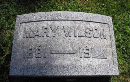 WILSON, MARY - Linn County, Iowa | MARY WILSON