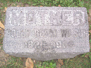 BEAM WILSON, POLLY - Linn County, Iowa | POLLY BEAM WILSON