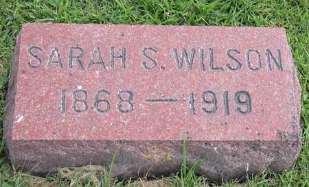 WILSON, SARAH S. - Linn County, Iowa | SARAH S. WILSON