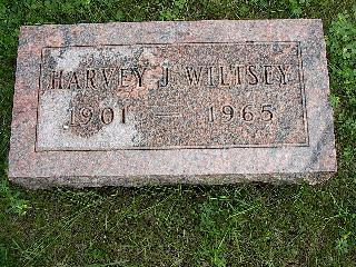 WILTSEY, HARVEY J - Linn County, Iowa | HARVEY J WILTSEY