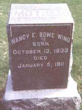 BOWE WING, NANCY E. - Linn County, Iowa | NANCY E. BOWE WING