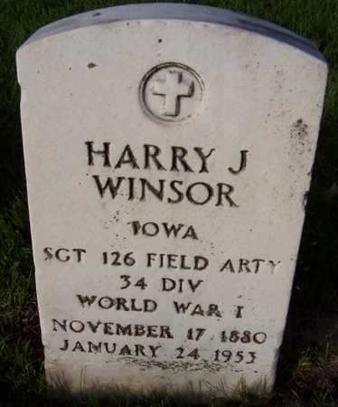 WINSOR, HARRY J. - Linn County, Iowa | HARRY J. WINSOR