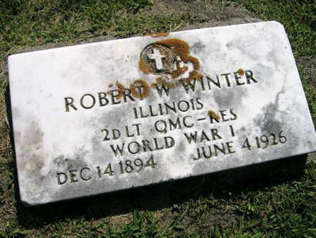 WINTER, ROBERT W. - Linn County, Iowa | ROBERT W. WINTER