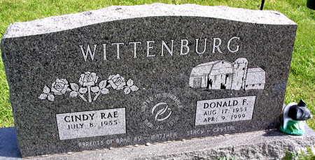 WITTENBURG, DONALD F. - Linn County, Iowa | DONALD F. WITTENBURG
