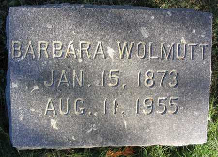 WOLMUTT, BARBARA - Linn County, Iowa | BARBARA WOLMUTT