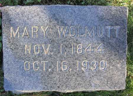 WOLMUTT, MARY - Linn County, Iowa | MARY WOLMUTT