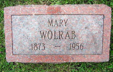 WOLRAB, MARY - Linn County, Iowa | MARY WOLRAB
