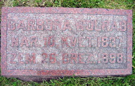 WOLRAB, BARBORA - Linn County, Iowa | BARBORA WOLRAB