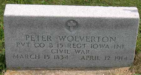 WOLVERTON, PETER - Linn County, Iowa | PETER WOLVERTON