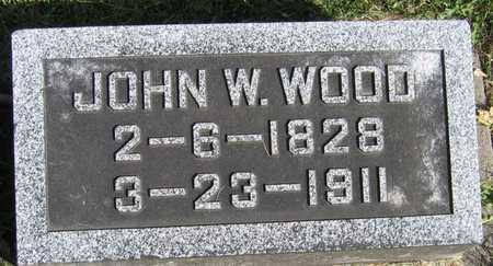 WOOD, JOHN W. - Linn County, Iowa | JOHN W. WOOD