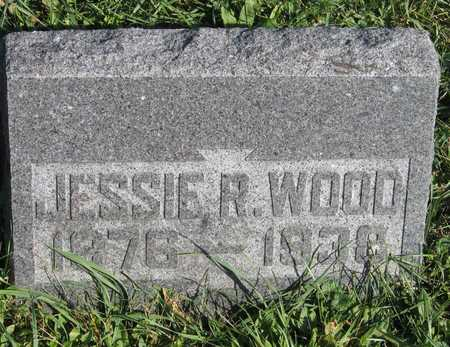 WOOD, JESSIE R. - Linn County, Iowa | JESSIE R. WOOD