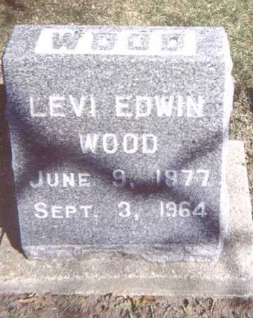 WOOD, LEVI EDWIN - Linn County, Iowa | LEVI EDWIN WOOD