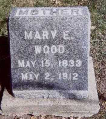 WOOD, MARY E. - Linn County, Iowa | MARY E. WOOD