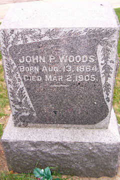 WOODS, JOHN P. - Linn County, Iowa | JOHN P. WOODS