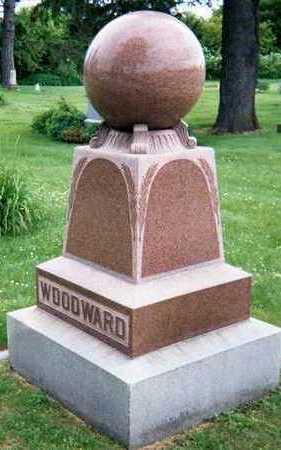 WOODWARD, FAMILY STONE - Linn County, Iowa   FAMILY STONE WOODWARD