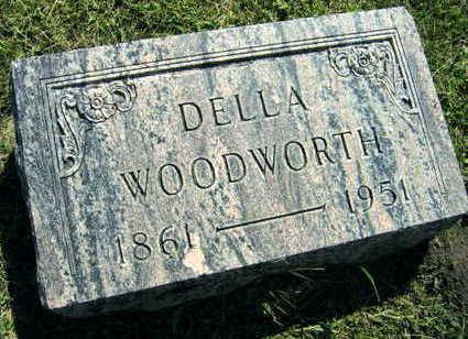 WOODWORTH, DELLA - Linn County, Iowa | DELLA WOODWORTH