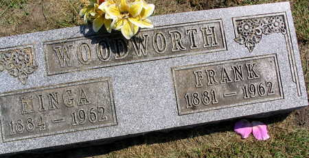 WOODWORTH, MINGA - Linn County, Iowa | MINGA WOODWORTH
