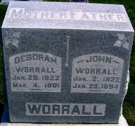 WORRALL, JOHN - Linn County, Iowa | JOHN WORRALL