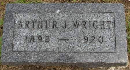 WRIGHT, ARTHUR J. - Linn County, Iowa | ARTHUR J. WRIGHT