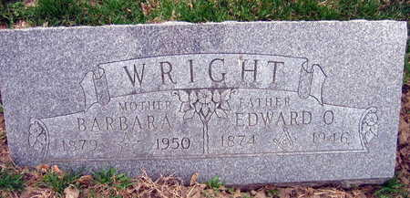 WRIGHT, EDWARD O. - Linn County, Iowa | EDWARD O. WRIGHT