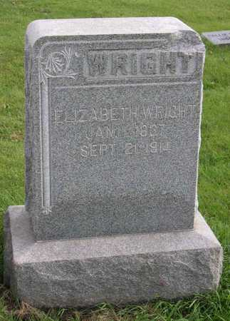 WRIGHT, ELIZABETH - Linn County, Iowa | ELIZABETH WRIGHT