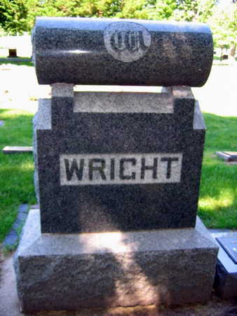 WRIGHT, FAMILY STONE - Linn County, Iowa | FAMILY STONE WRIGHT