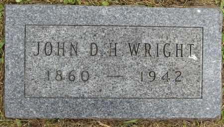 WRIGHT, JOHN D. H. - Linn County, Iowa | JOHN D. H. WRIGHT
