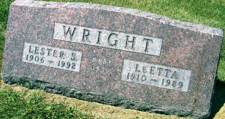 WRIGHT, LESTER S. - Linn County, Iowa | LESTER S. WRIGHT