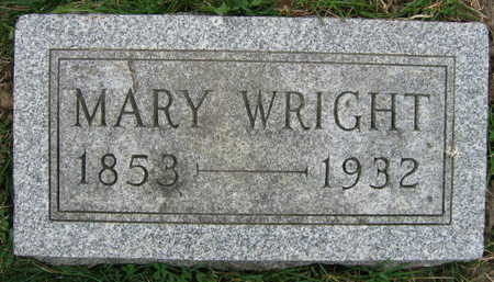 WRIGHT, MARY - Linn County, Iowa | MARY WRIGHT