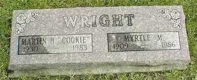 WRIGHT, MYRTLE M. - Linn County, Iowa | MYRTLE M. WRIGHT
