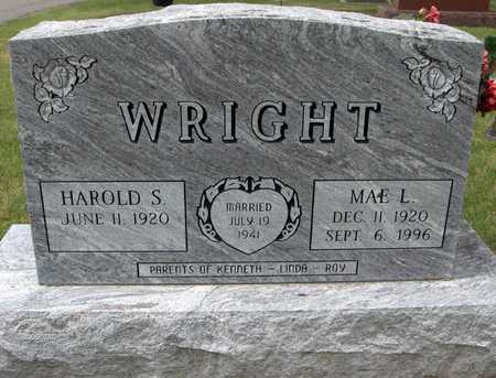 WRIGHT, MAE L. - Linn County, Iowa | MAE L. WRIGHT