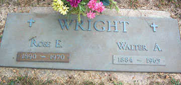 WRIGHT, ROSE E. - Linn County, Iowa | ROSE E. WRIGHT