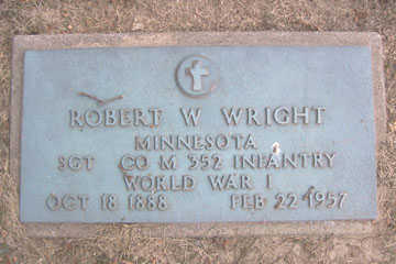 WRIGHT, ROBERT W. - Linn County, Iowa | ROBERT W. WRIGHT