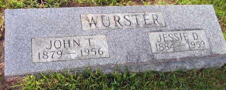 WUSTER, JESSIE D. - Linn County, Iowa | JESSIE D. WUSTER