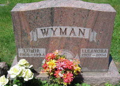 WYMAN, ELEANORA - Linn County, Iowa | ELEANORA WYMAN