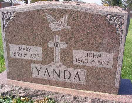 YANDA, MARY - Linn County, Iowa | MARY YANDA