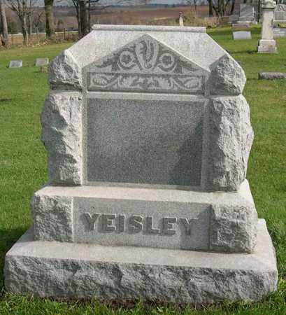 YEISLEY, FAMILY STONE - Linn County, Iowa | FAMILY STONE YEISLEY