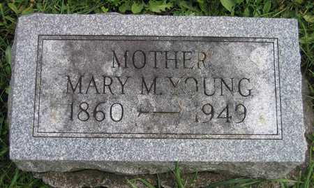 YOUNG, MARY M. - Linn County, Iowa | MARY M. YOUNG