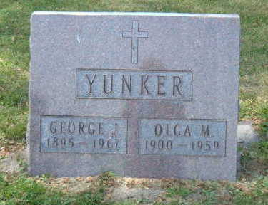 YUNKER, GEORGE J. - Linn County, Iowa | GEORGE J. YUNKER