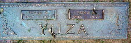 YUZA, EMMA A. - Linn County, Iowa | EMMA A. YUZA