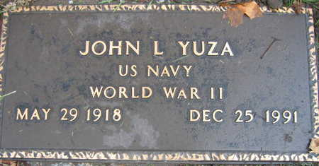 YUZA, JOHN L. - Linn County, Iowa | JOHN L. YUZA