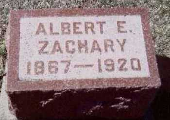 ZACHARY, ALBERT E. - Linn County, Iowa | ALBERT E. ZACHARY