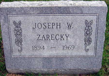 ZARECKY, JOSEPH W. - Linn County, Iowa | JOSEPH W. ZARECKY