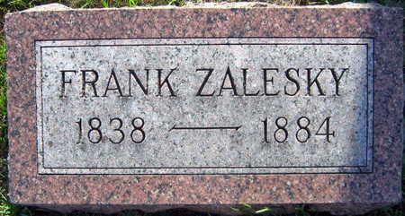 ZALESKY, FRANK - Linn County, Iowa | FRANK ZALESKY